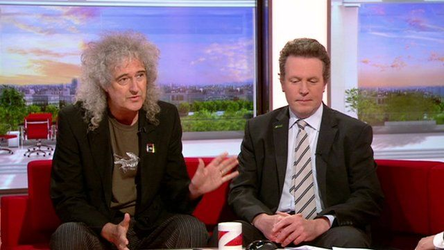 Brian May and Adam Quinney