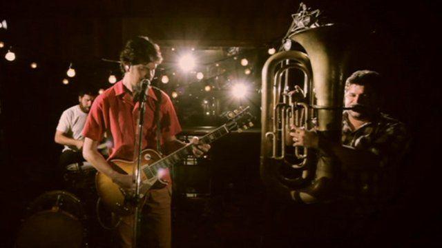 Siba and his band