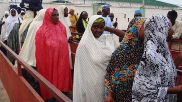 Nigerian women deported from Saudi Arabia