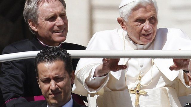 Paolo Gabriele (bottom left) had worked as the Pope's personal valet since 2006