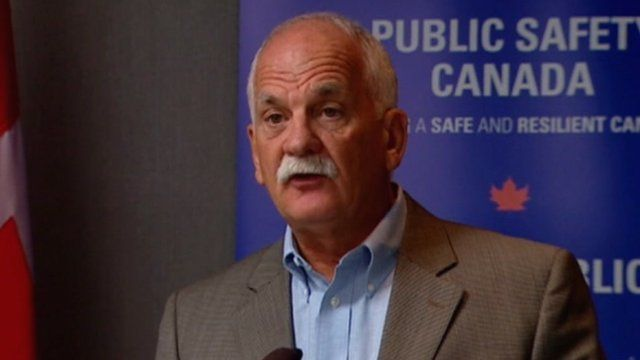 Canadian Public Safety Minister, Vic Toews