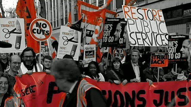 Strike march