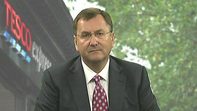 Philip Clarke, Chief executive Tesco