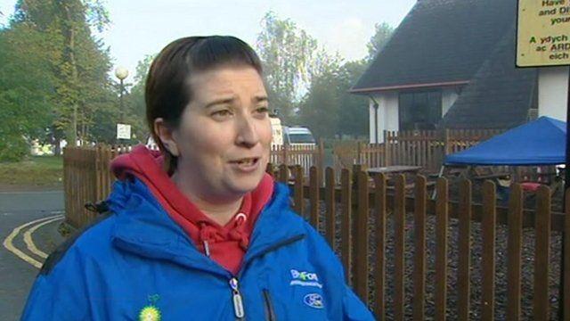 Search volunteer Anwen Morris