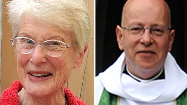 Betty Yates and Reverend John Suddards