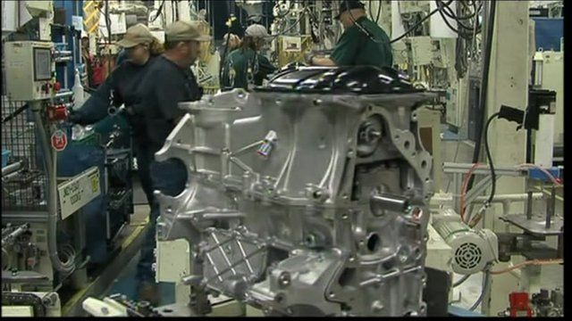 car engine factory