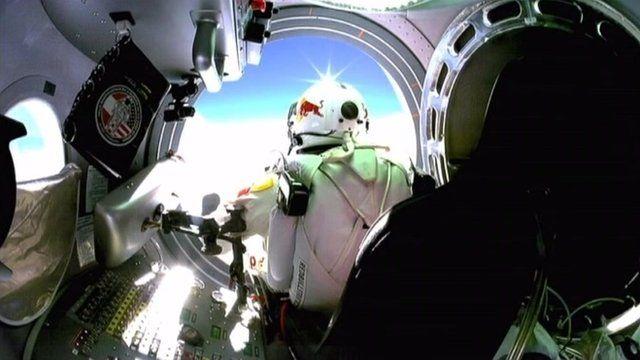 Austrian skydiver Felix Baumgartner