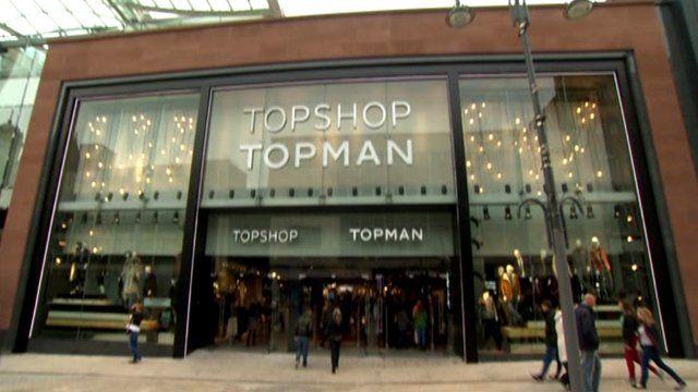 The new Topshop in Leeds