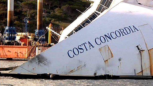 The Costa Concordia