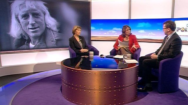 Joan Bakewell, Jo Coburn and Rob Wilson