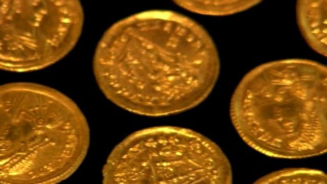 Roman coin discovery