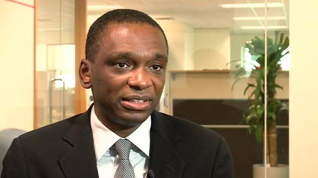 Jose Filomeno Don Santos, director Angola's sovereign wealth fund.