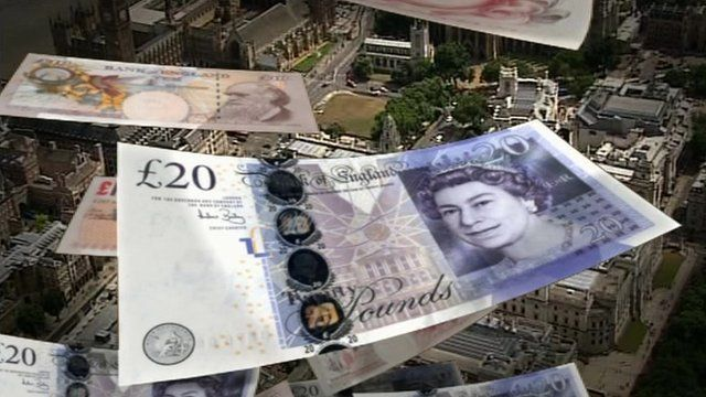 Bank of England notes