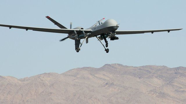 Reaper unmanned aircraft