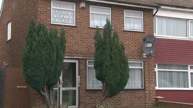 Osezua Osolase's home in Gravesend