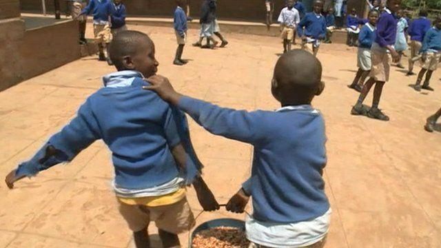 Children in Kenya