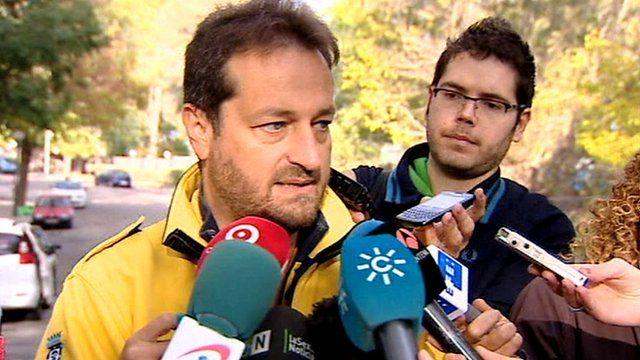 Fernando Prados, chief of the emergency group Samur