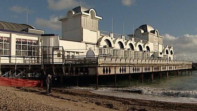Southsea's South Pier is a Grade II listed structure