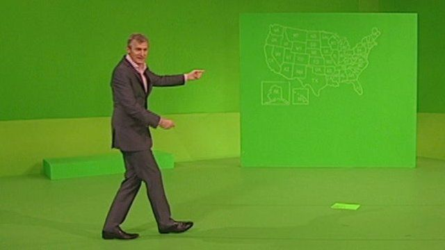 Jeremy Vine with green map