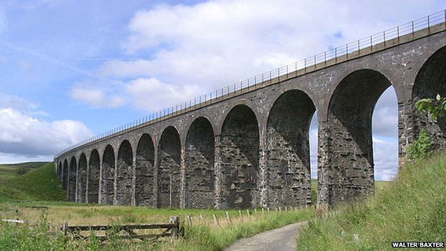 Part of the old Waverley line