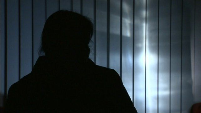 A tamil refugee in sillhouette