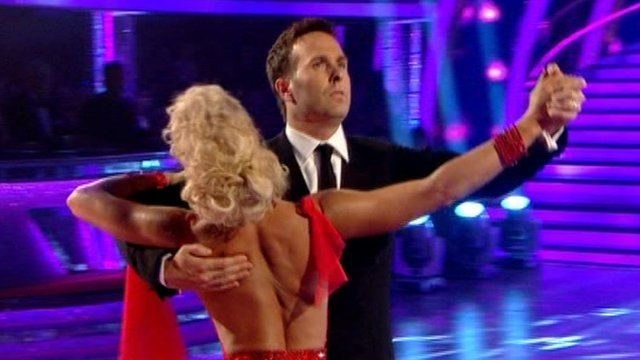 Michael Vaughan dancing