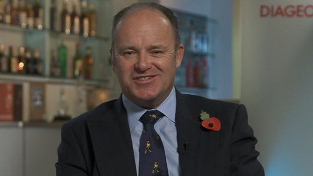 Diageo chief executive Paul Walsh