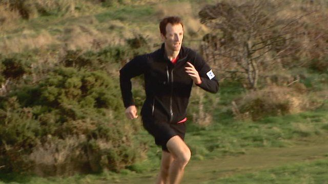 Andrew Murray running