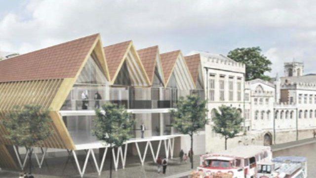 Plan of redevelopment
