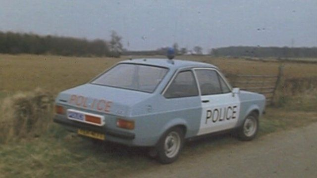 Cambridgeshire Police car in 1980