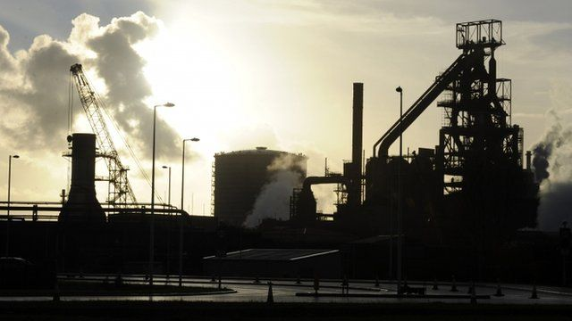 Tata Steel in Port Talbot
