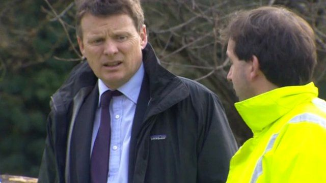 Environment Minister Richard Benyon