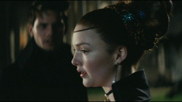 Holliday Grainger (c) in a scene from Great Expectations