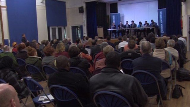 Local hustings at Croydon North