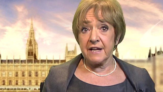 Public Accounts Committee chairwoman Margaret Hodge