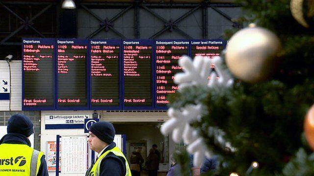 Glasgow's Central Station