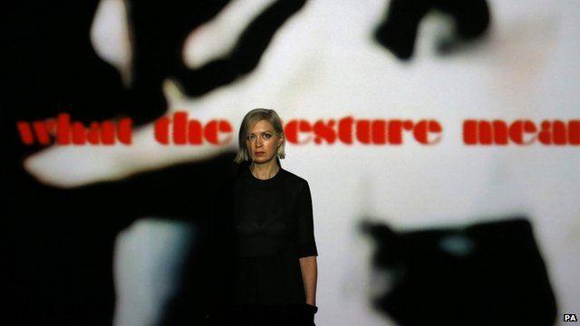 Video artist Elizabeth Price
