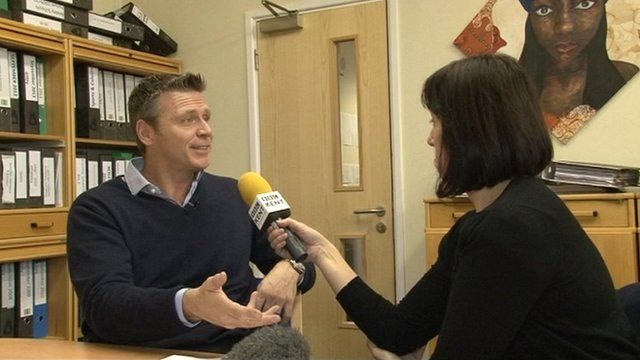 Steve Backley talks to Clare McDonnell