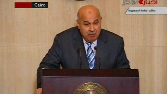 Vice-President Mahmoud Mekky
