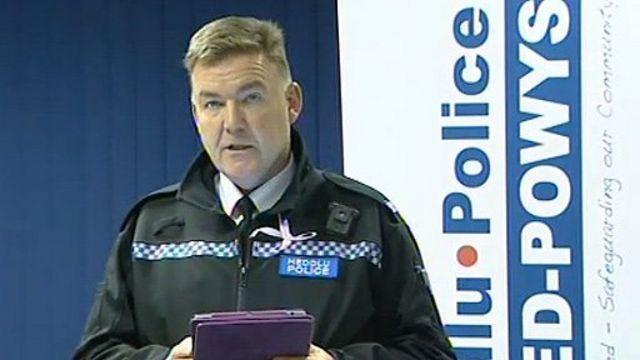 Supt Ian John from Dyfed-Powys Police