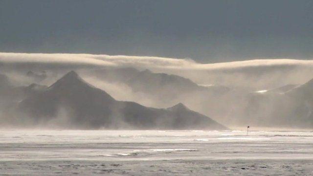 Antarctic scene