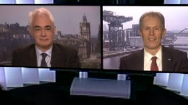 Alistair Darling and Blair Jenkins