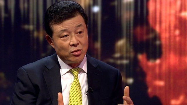 Chinese ambassador on china 39 s internet policy bbc news for Ambassador chinese cuisine