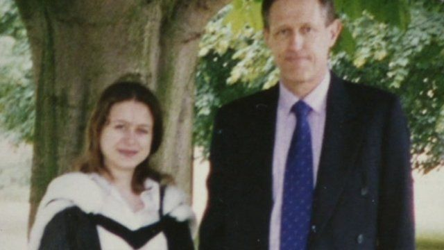 Robert Spooner and daughter Melanie