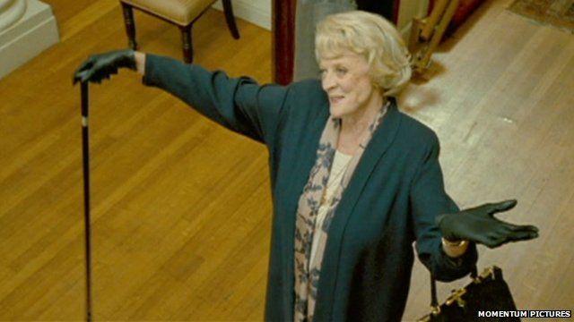 Maggie Smith in the film Quartet