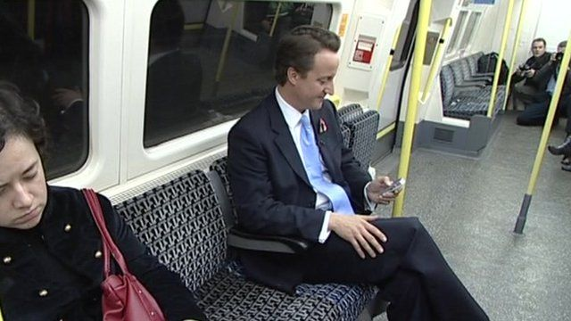 London Underground: Blair, Cameron and Johnson on Tube ...