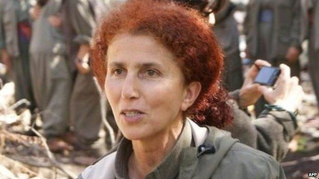 PKK co-founder Sakine Cansiz (undated file photo)