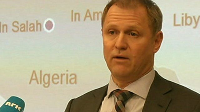Statoil chief executive Lars Christian Backer