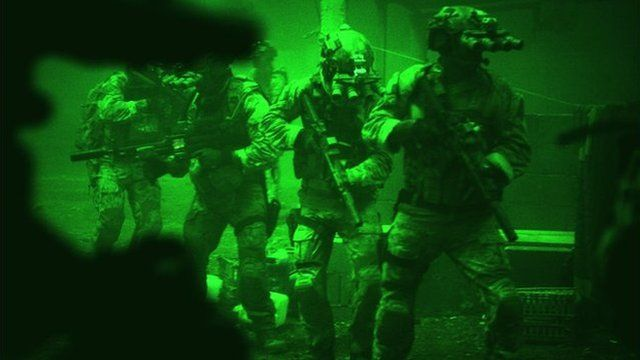 A scene from Zero Dark Thirty