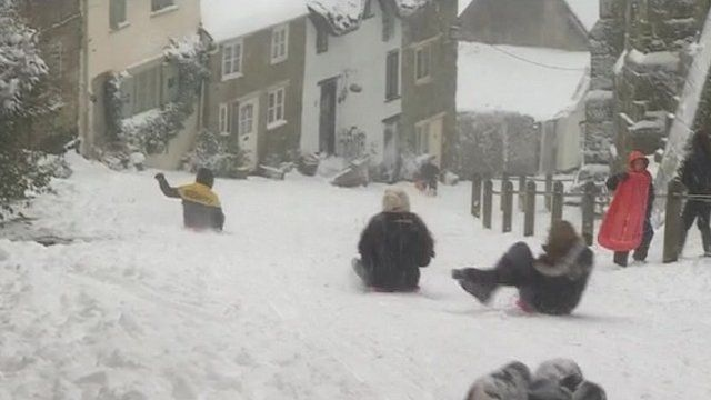 Kids on Gold Hill